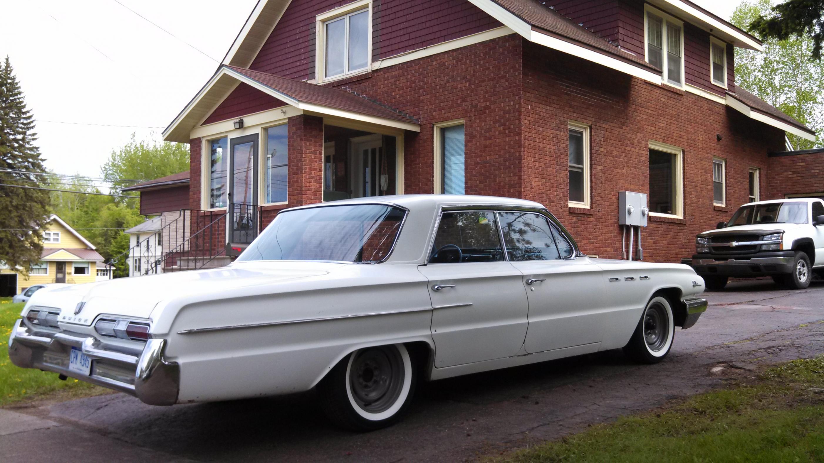 1962 buick lesabre 401 nailhead classic gd wallpaper. Black Bedroom Furniture Sets. Home Design Ideas