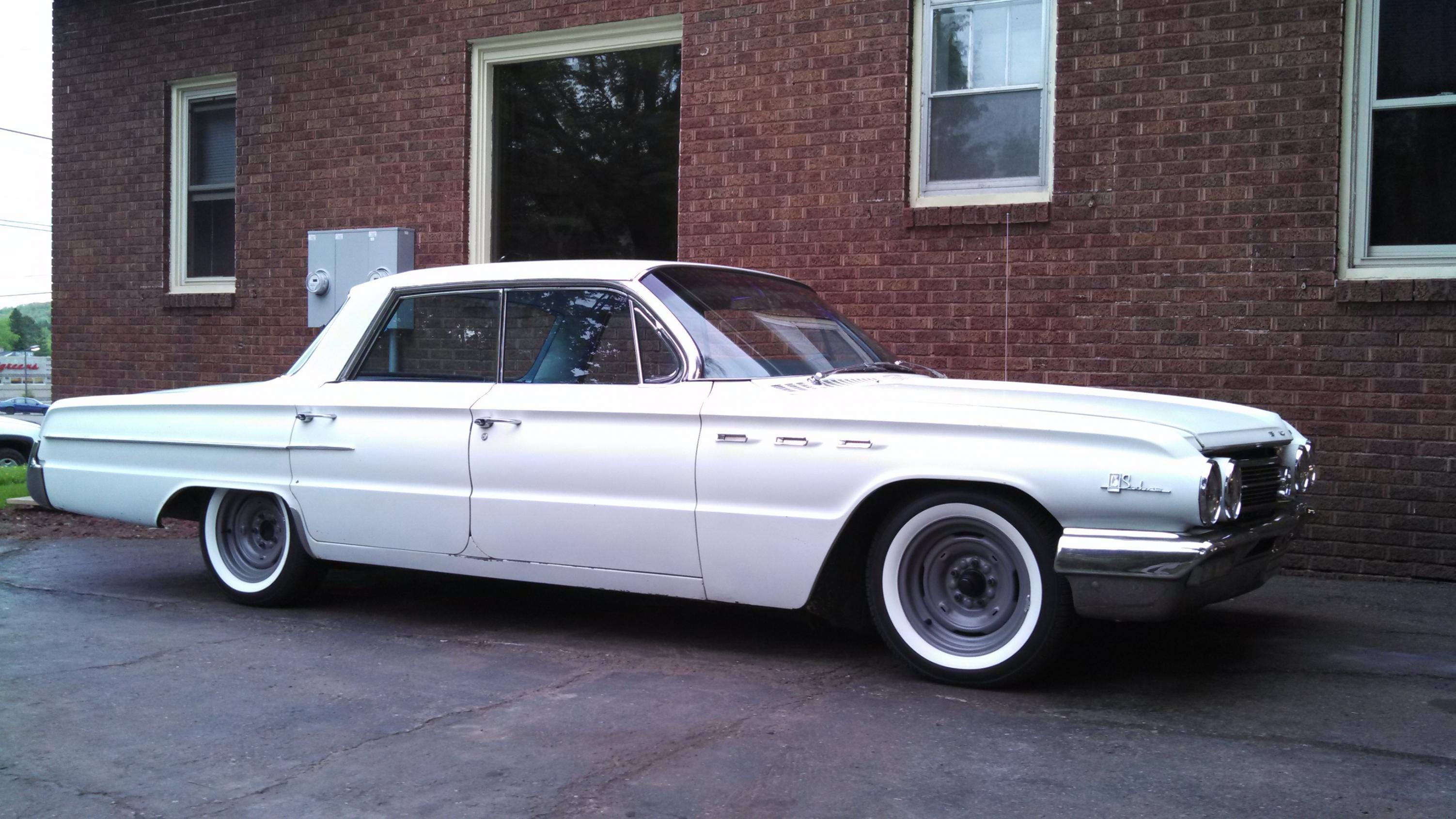 1962 buick lesabre 401 nailhead classic g wallpaper. Black Bedroom Furniture Sets. Home Design Ideas