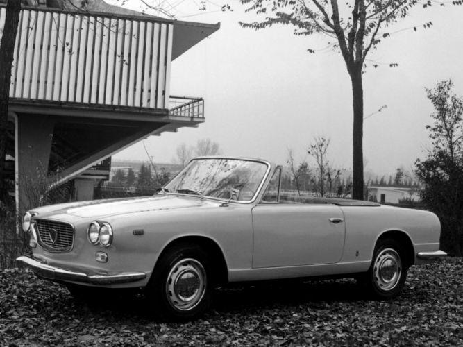 1962 Lancia Flavia Convertible (815) classic k wallpaper