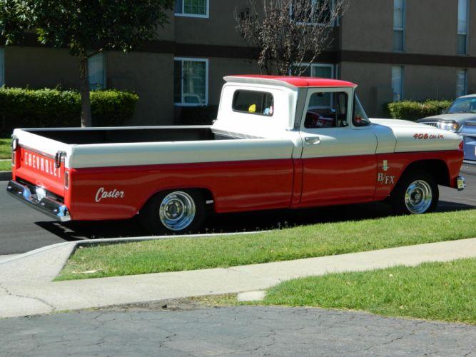1963 Chevy BFX hot rod rods retro pickup retro k wallpaper