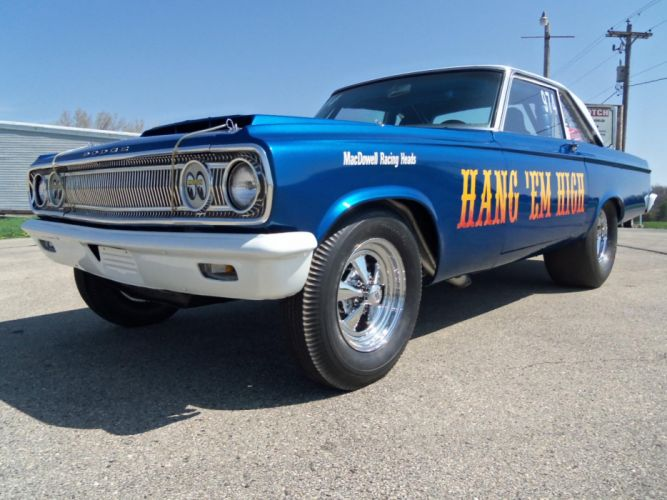1965 Dodge Coronet Altered Wheelbase hot rod rods drag racing race muscle y wallpaper
