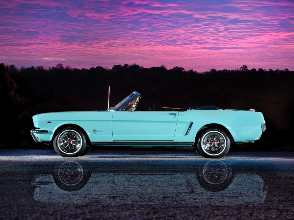 1965 Ford Mustang Convertible classic muscle    t wallpaper