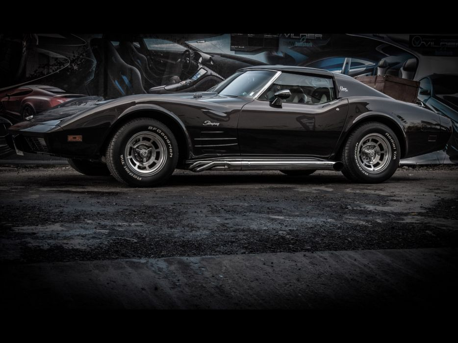 1976 Vilner Chevrolet Corvette Stingray muscle supercar hot rod rods  gd wallpaper