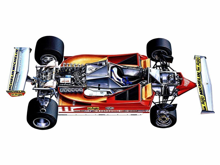 1979 Ferrari 312 T4 formula one f-1 race racing t-4 interior engine      g wallpaper