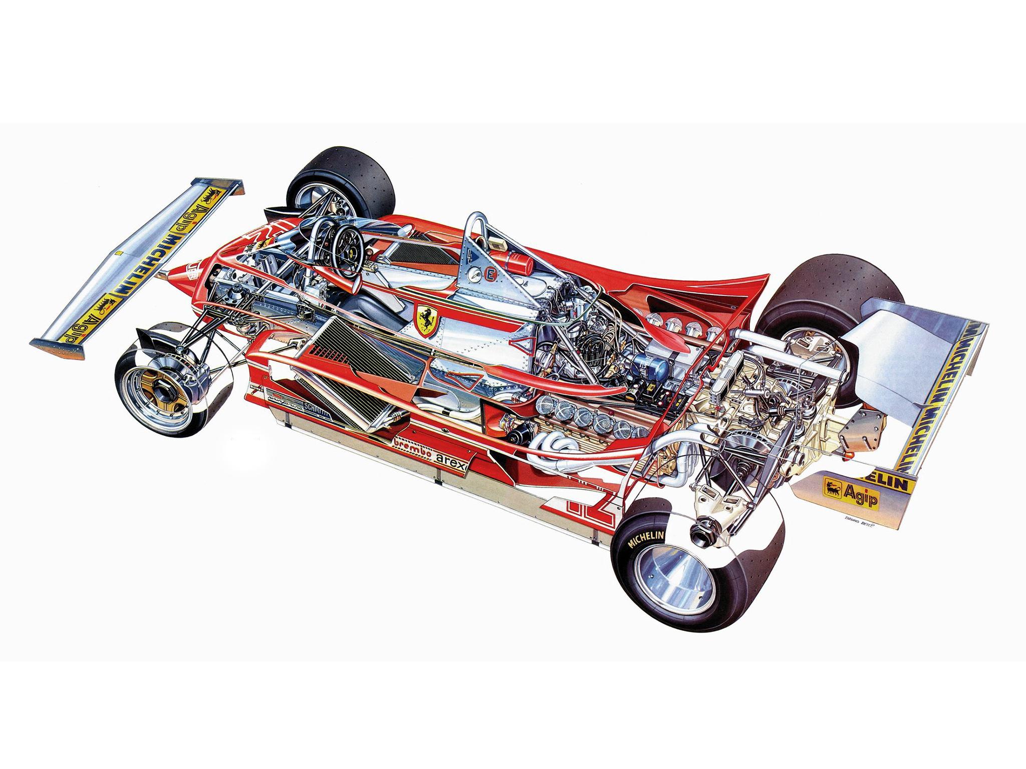 1979 ferrari 312 t4 formula one f1 race racing t4