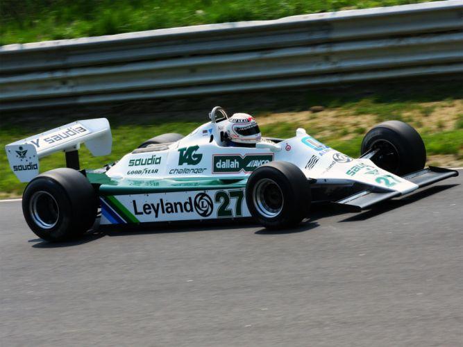 1979 Williams FW07 formula f-1 race racing f wallpaper