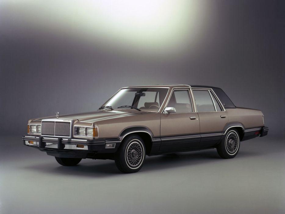 1981 Mercury Cougar Sedan (54D) wallpaper
