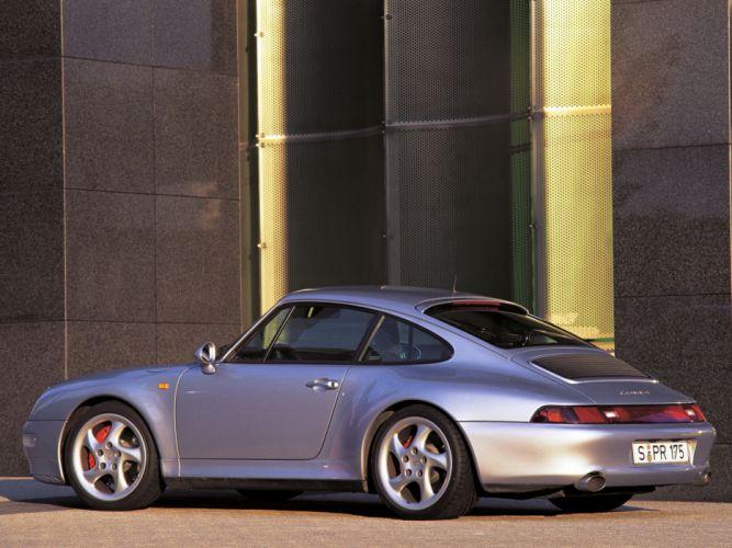 1995 Porsche 911 Carrera 4S 3_6 Coupe (993) 4-s f wallpaper