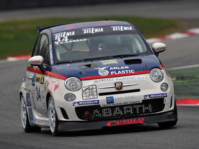 2008 Abarth 500 Assetto Corse race racing g wallpaper