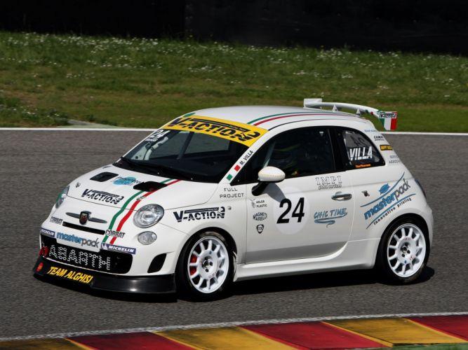 2008 Abarth 500 Assetto Corse race racing tq wallpaper