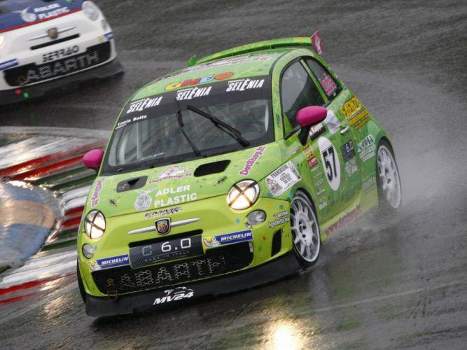 2008 Abarth 500 Assetto Corse race racing eq wallpaper