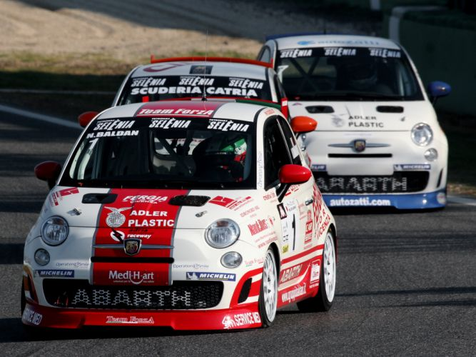 2008 Abarth 500 Assetto Corse race racing r wallpaper