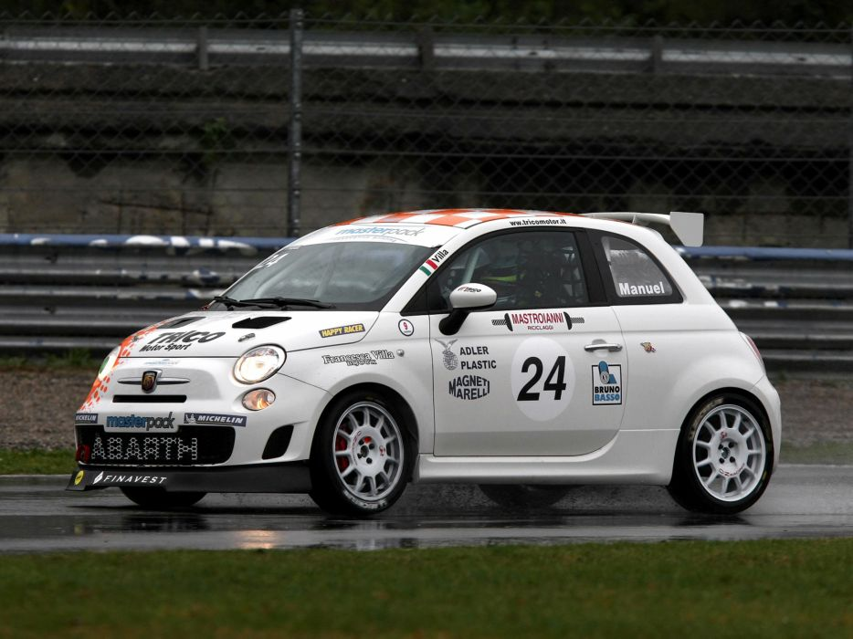 2008 Abarth 500 Assetto Corse race racing t wallpaper