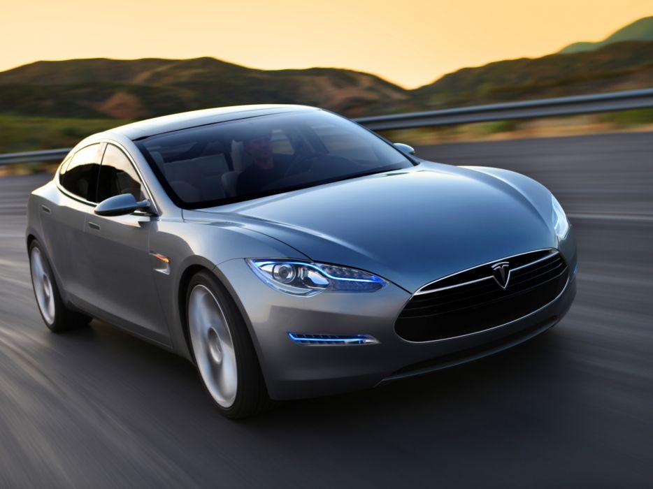 2009 Tesla Model S Concept Supercar F Wallpaper 2048x1536 173243