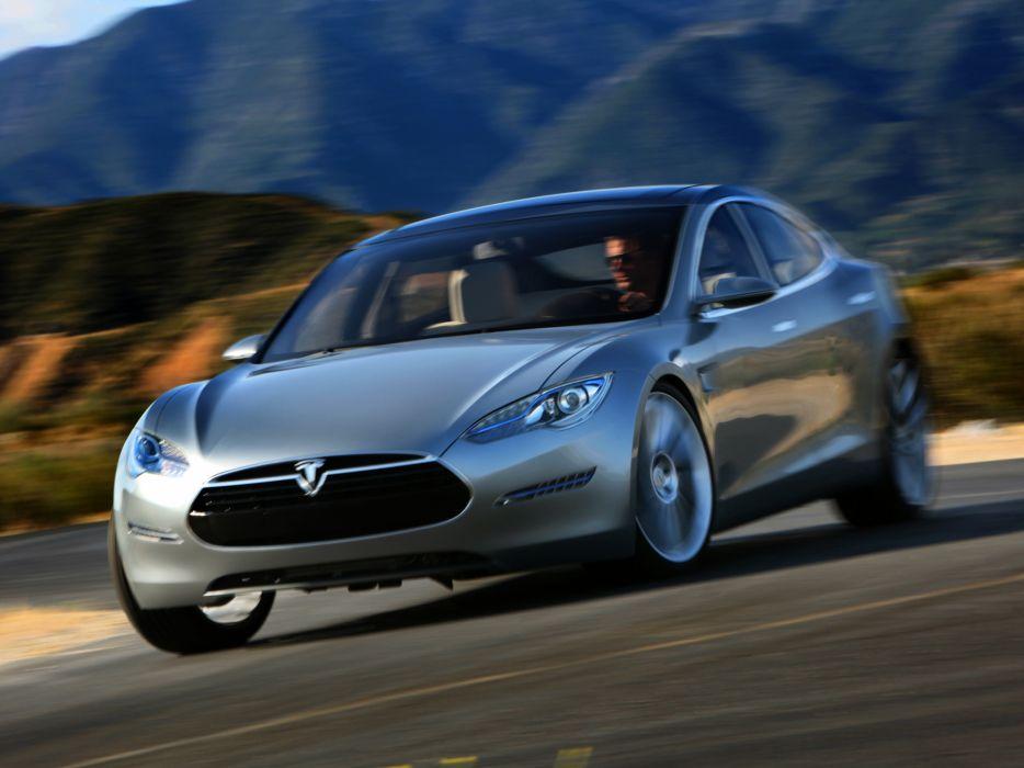 2009 Tesla Model S Concept Supercar F Wallpaper 2048x1536 173244