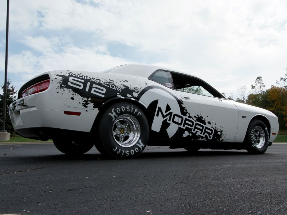 2011 Mopar Dodge Challenger V-10 Drag Pak (LC) race racing muscle hot rod rods    y wallpaper