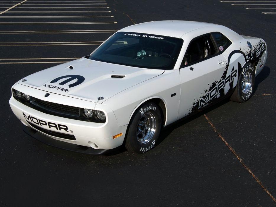 2011 Mopar Dodge Challenger V-10 Drag Pak (LC) race racing muscle hot rod rods     g wallpaper