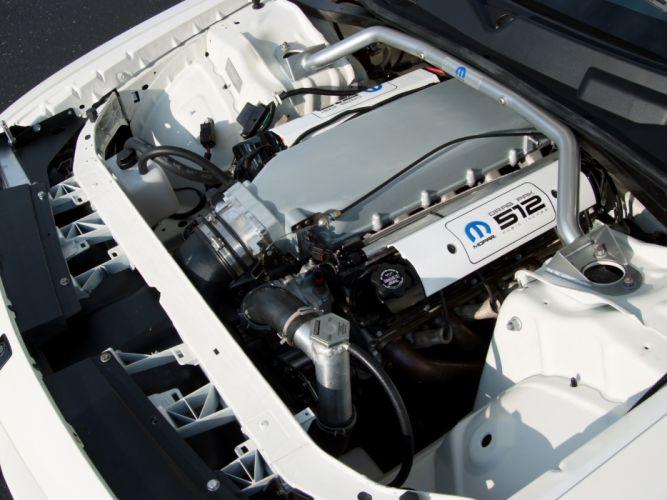2011 Mopar Dodge Challenger V-10 Drag Pak (LC) race racing muscle hot rod rods engine h wallpaper