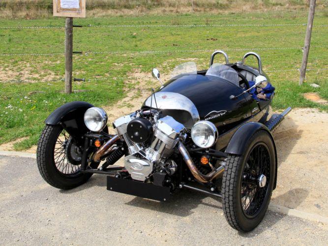 2011 Morgan 3-Wheeler EU-spec supercar motorcycle bike motorbike f wallpaper