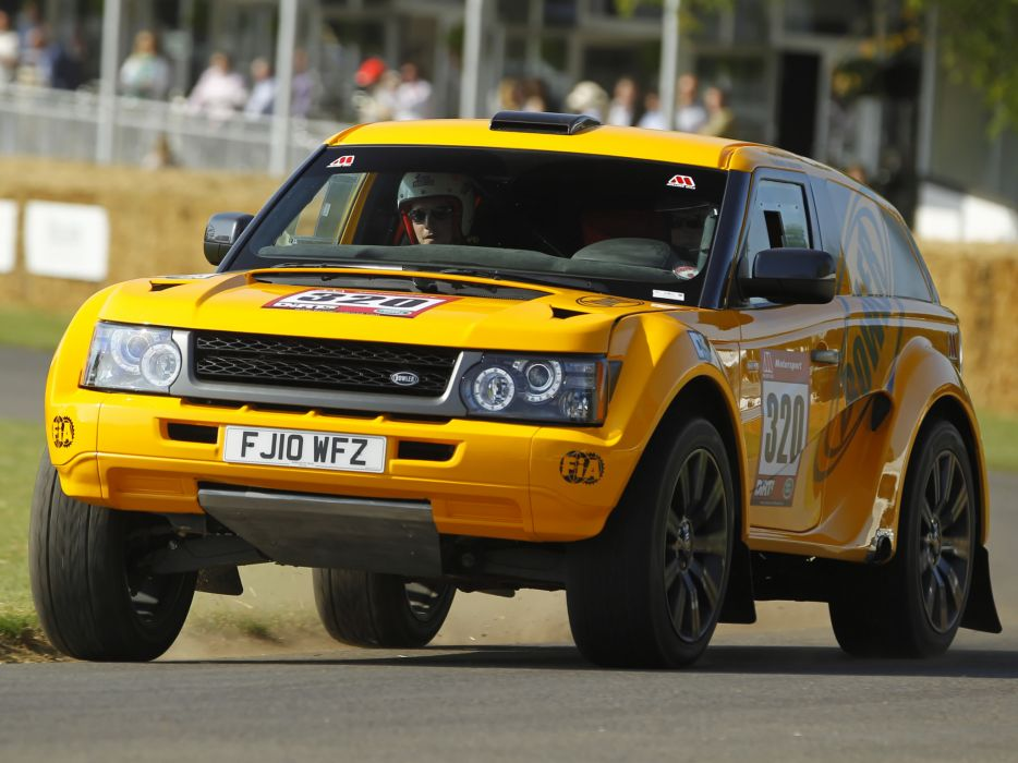 2012 Bowler EXR Rally Car By Land Rover suv race racing offroad awd  d wallpaper