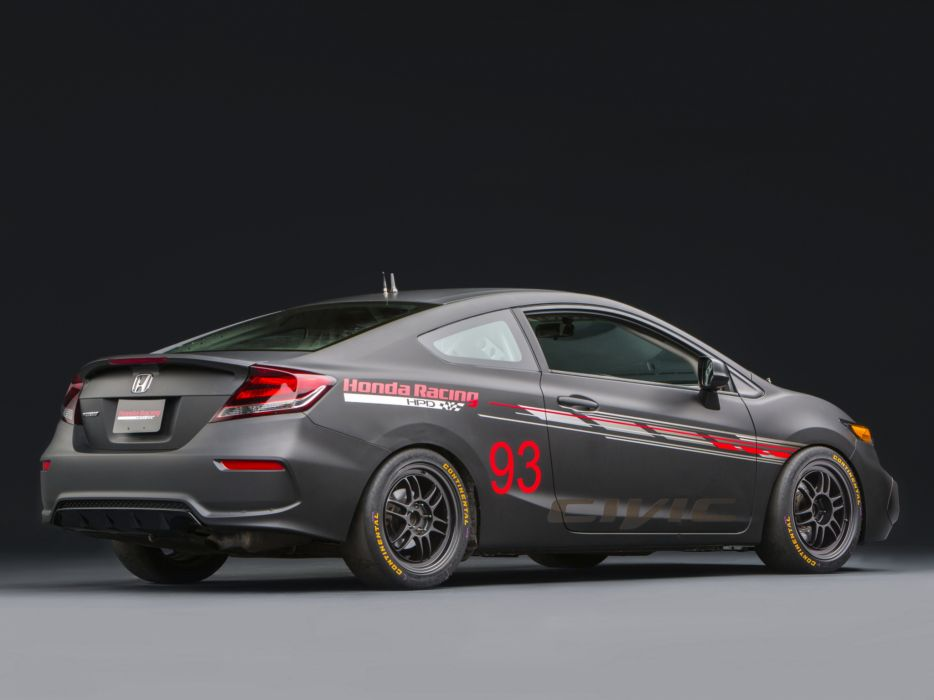 2013 Honda Civic Si Coupe Race Car by HPD tuning racing      h wallpaper