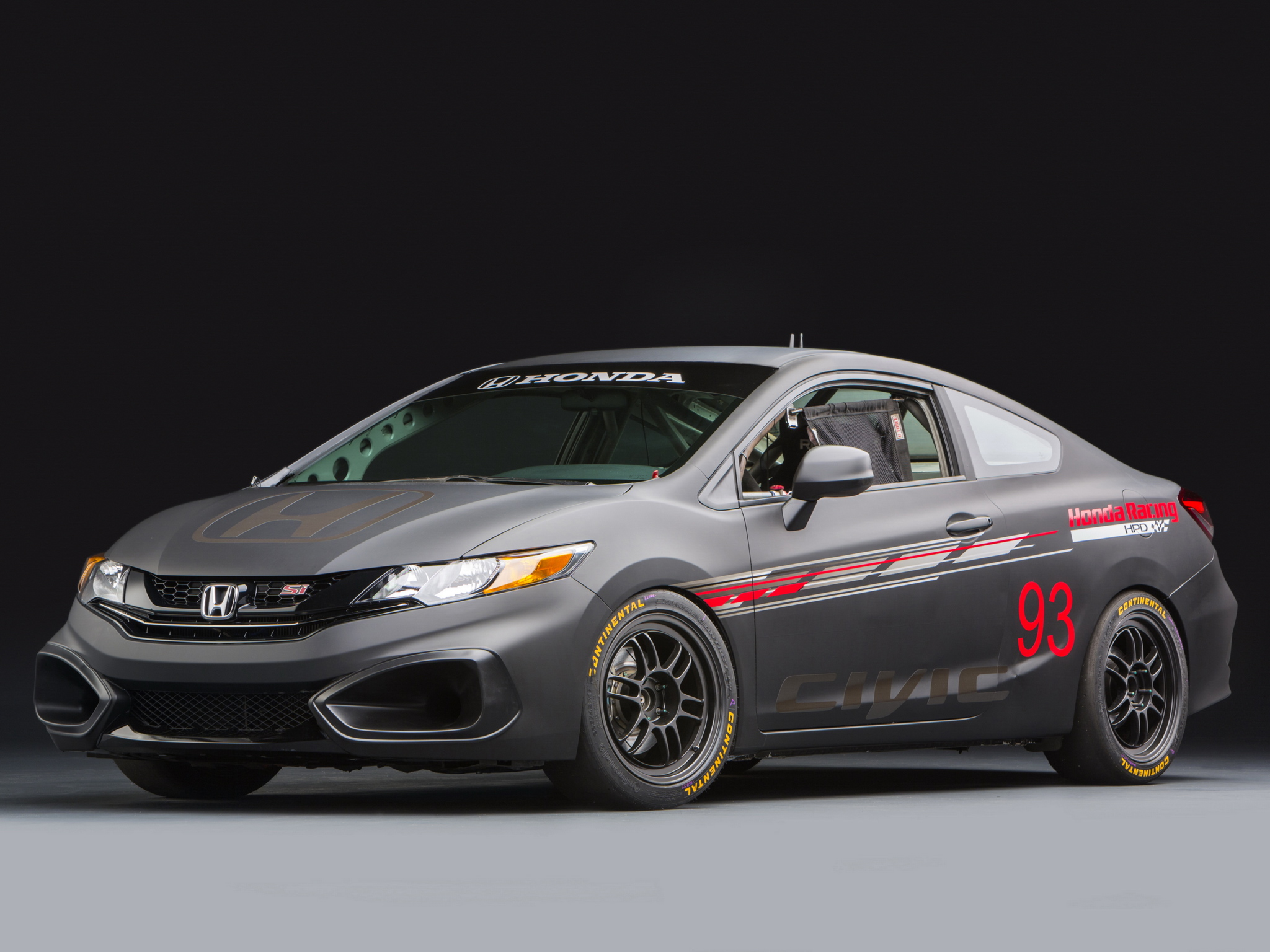 2013 honda civic si coupe race car by hpd tuning racing t for Honda civic race car