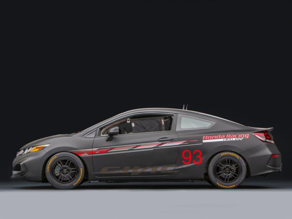 2013 Honda Civic Si Coupe Race Car by HPD tuning racing   h wallpaper