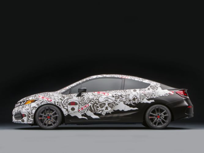 2013 Honda Civic Street Performance Concept by HPD tuning j wallpaper