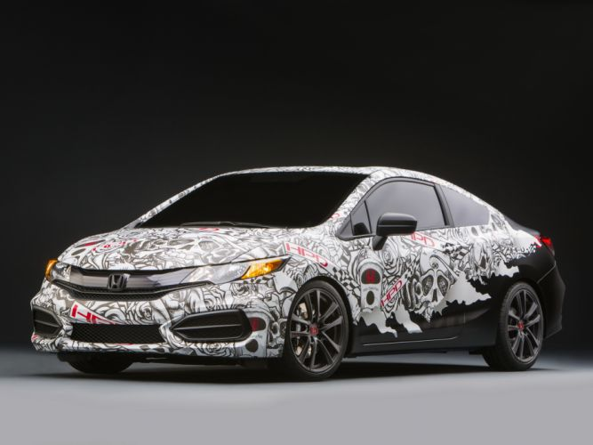 2013 Honda Civic Street Performance Concept by HPD tuning y wallpaper
