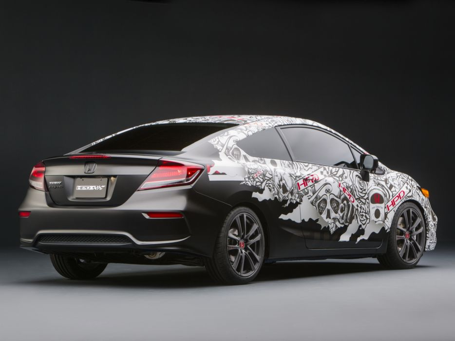2013 Honda Civic Street Performance Concept by HPD tuning   h wallpaper