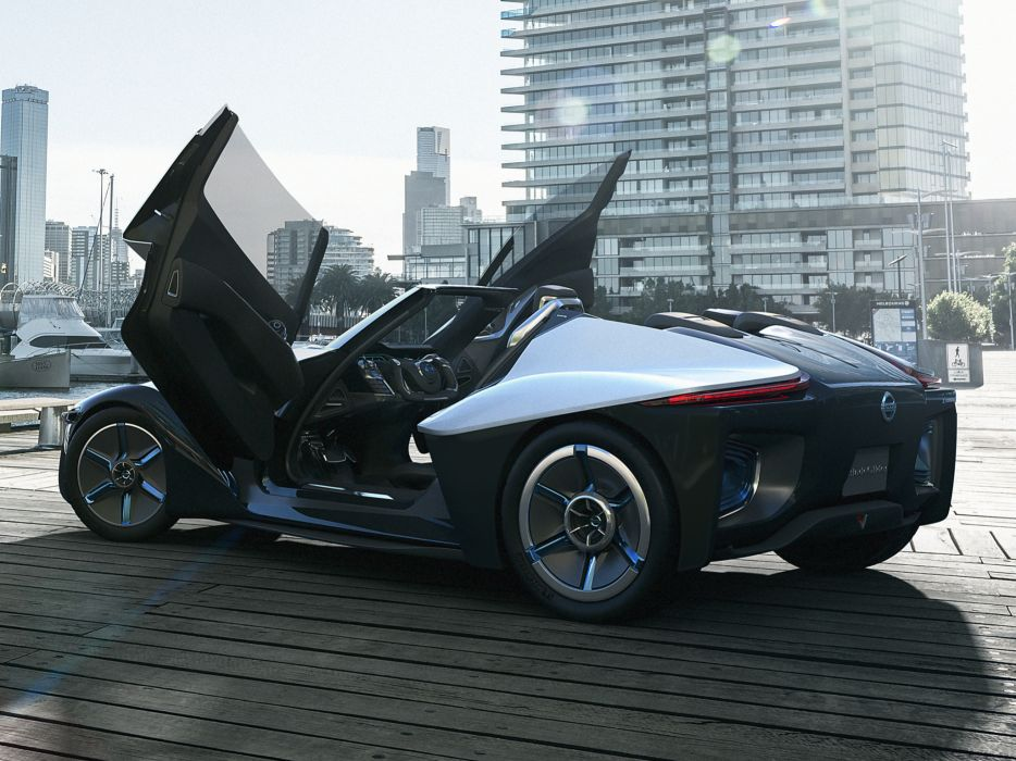 2013 Nissan BladeGlider Concept supercar interior   h wallpaper
