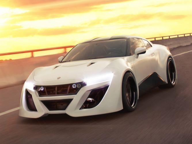 2013 Team Galag TG1 Nissan GT-R Gumball 3000 tuning supercar h wallpaper