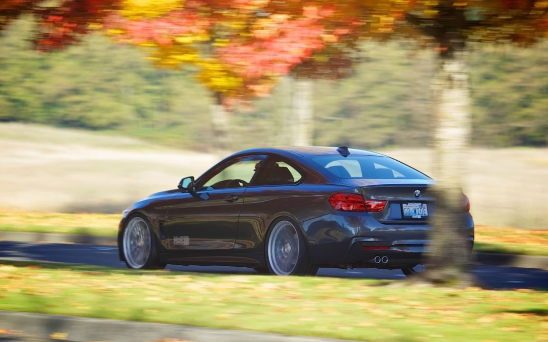 2014 HR-Springs BMW 428i M-Sport Coupe tuning   gd wallpaper