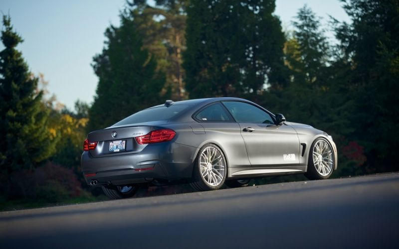 2014 HR-Springs BMW 428i M-Sport Coupe tuning g wallpaper