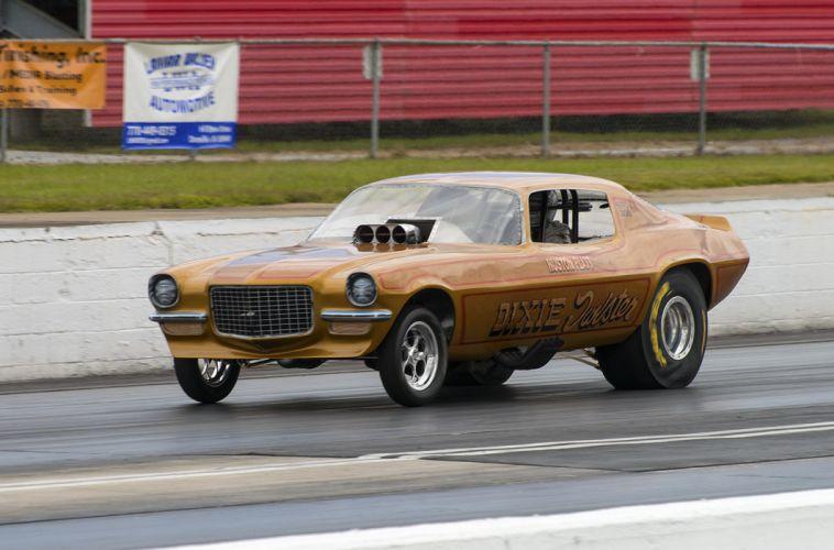 hot rod rods drag racing race Camaro Fuel FunnyCar g wallpaper