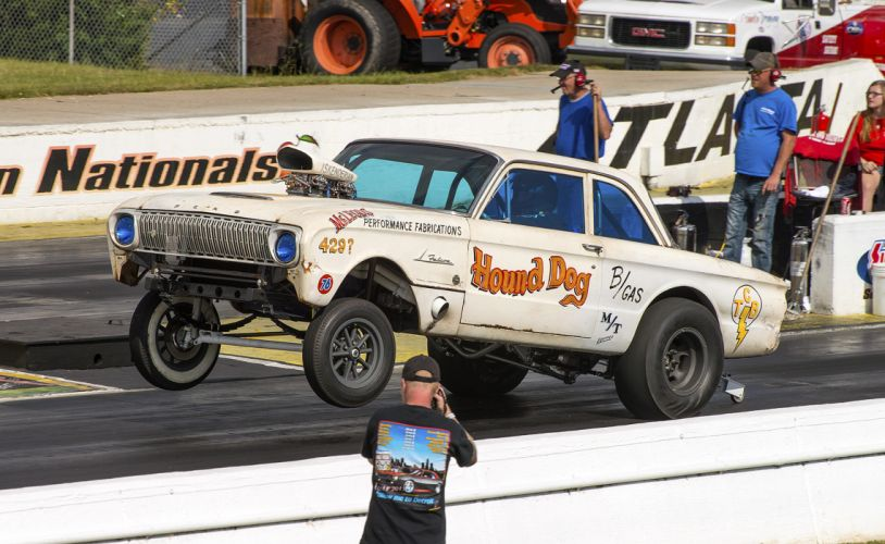 hot rod rods drag racing race Ford Falcon h wallpaper
