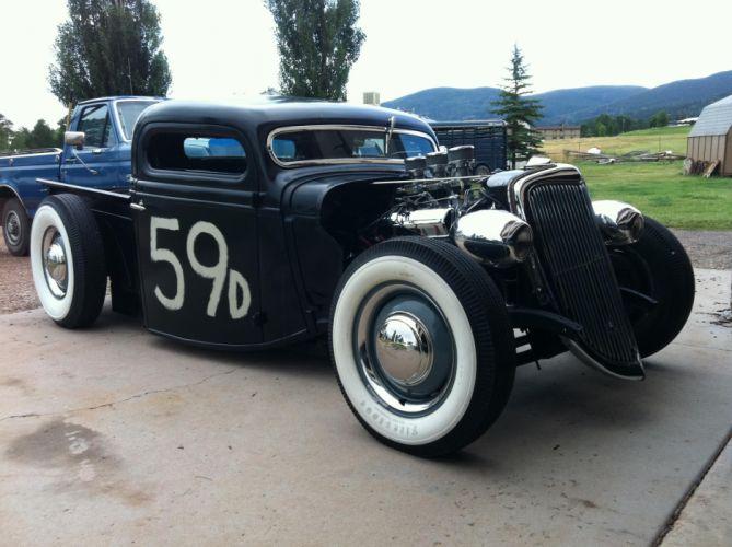 hot rod rods retro pickup retro engine g wallpaper
