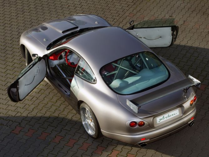 Jaguar XKR by Arden A-Type tuning supercar interior j wallpaper