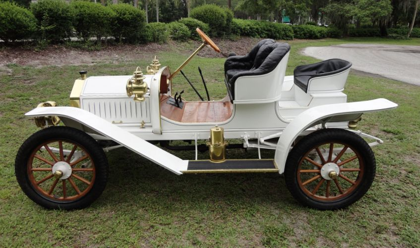 1908 BUICK MODEL-10 TOURING RUNABOUT retro g wallpaper