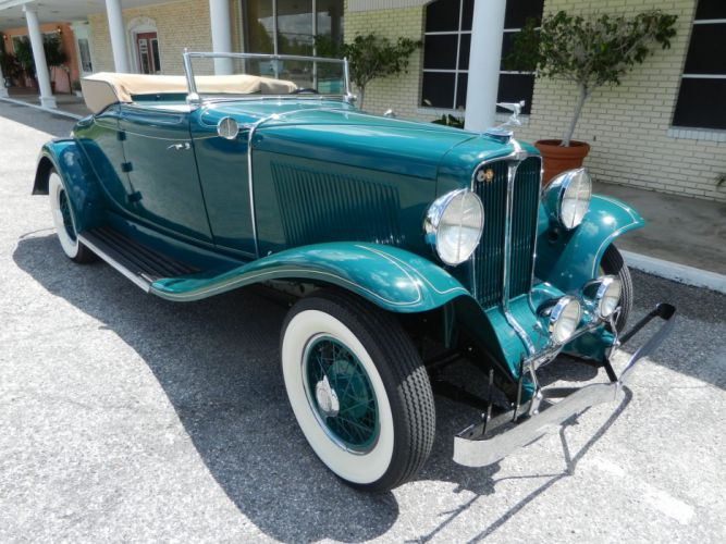 1931 AUBURN 8-98A CABRIOLET luxury retro t wallpaper