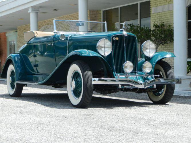 1931 AUBURN 8-98A CABRIOLET luxury retro r wallpaper