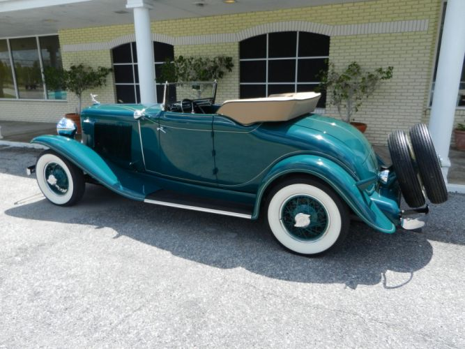 1931 AUBURN 8-98A CABRIOLET luxury retro wheel g wallpaper