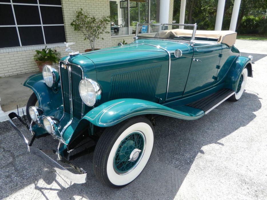 1931 AUBURN 8-98A CABRIOLET luxury retro f wallpaper