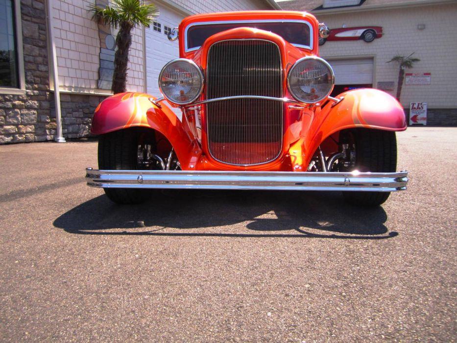 1932 Ford hot rod rods custom retro    f wallpaper