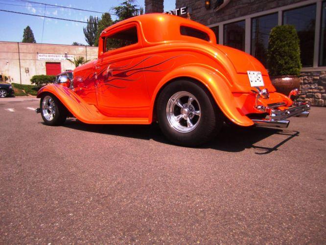 1932 Ford hot rod rods custom retro g wallpaper