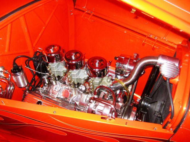 1932 Ford hot rod rods custom retro engine g wallpaper
