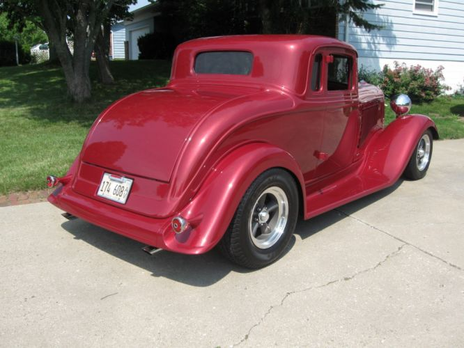 1933 Dodge Coupe hot rod rods retro t_JPG wallpaper