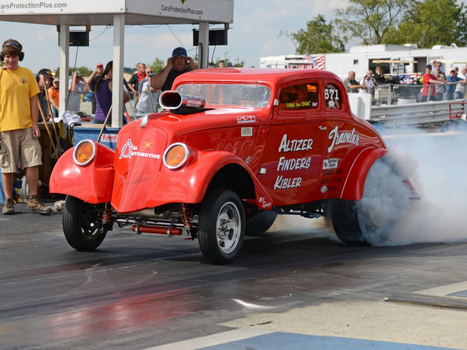 1933 Willys Coupe hot rod rods retro drag race racing   t wallpaper