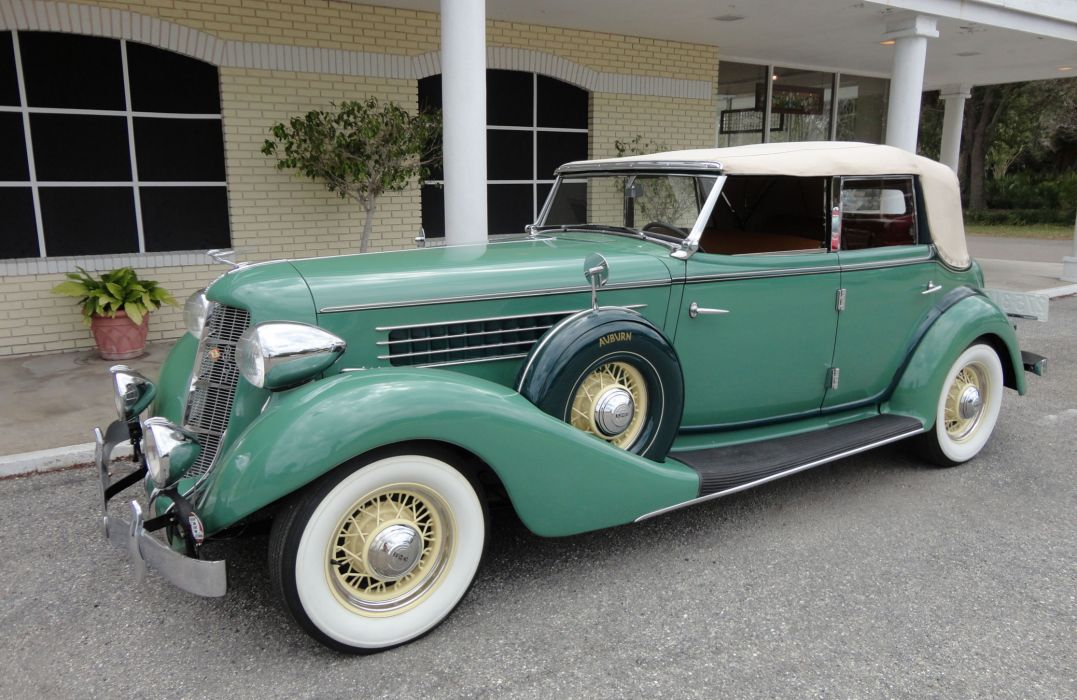 1935 AUBURN 851 PHAETON luxury retro    t wallpaper