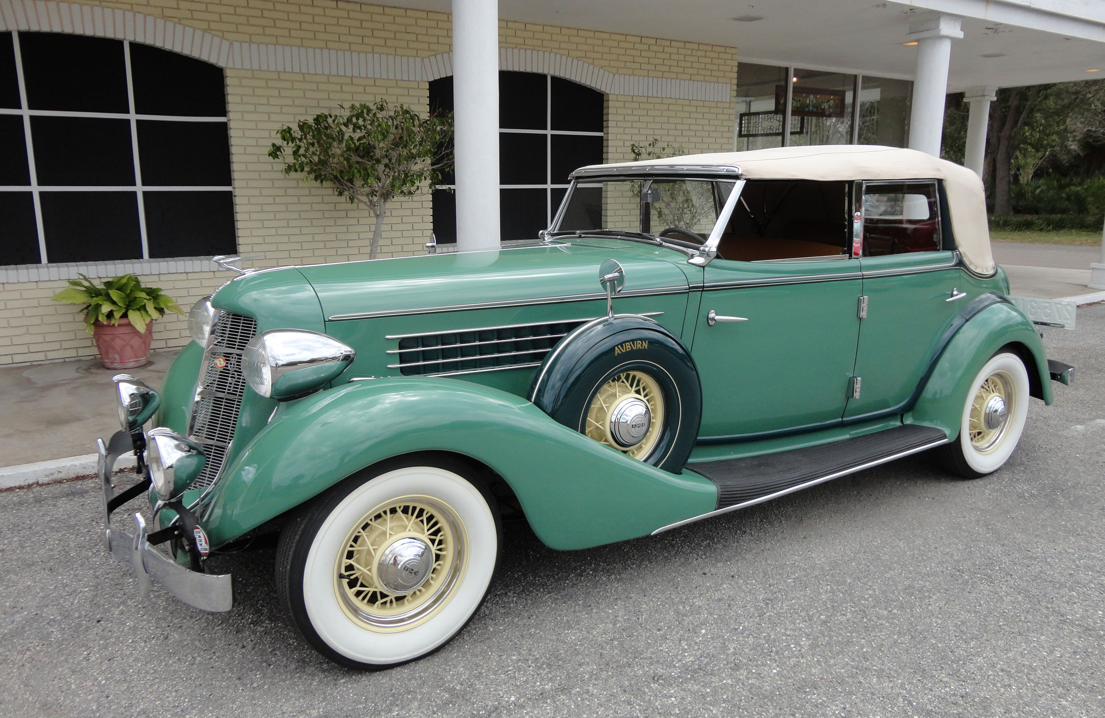 1935 auburn 851 phaeton luxury retro t wallpaper for Airport motors inc auburn al